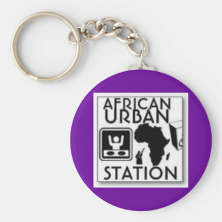 african urban station key chains