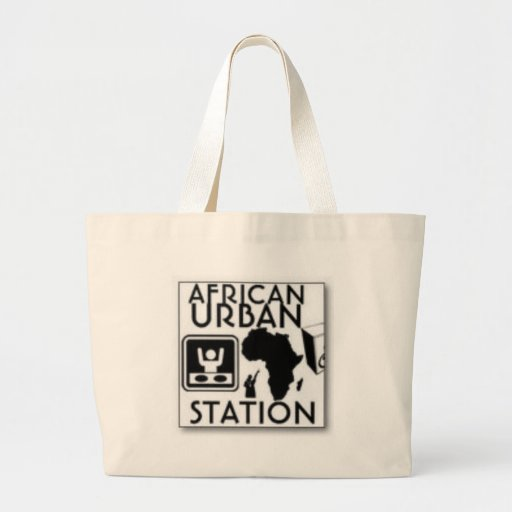 african urban station tote bag
