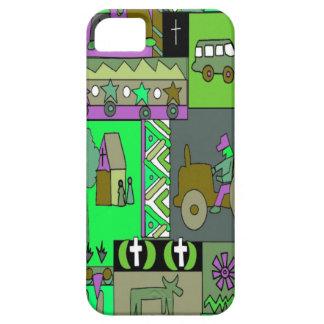 African village life 2 iPhone SE/5/5s case