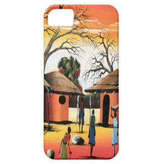African village life iPhone SE/5/5s case