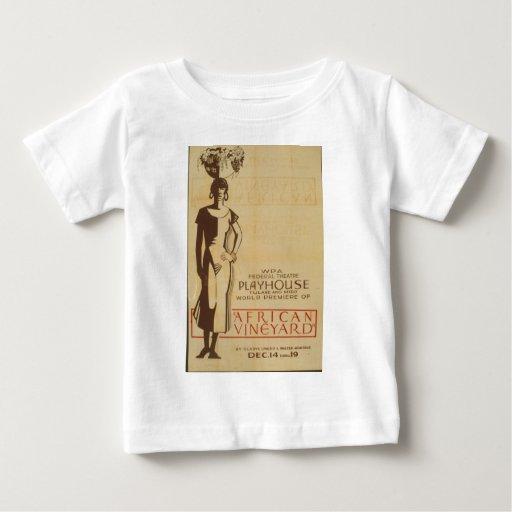 African Vinneyard Federal Theatre Debut Poster Shirt