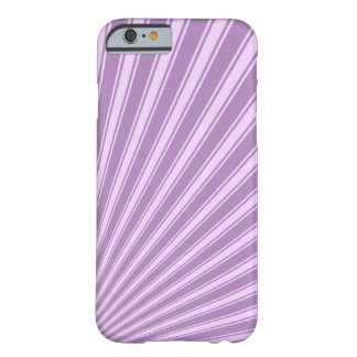 African violet Color Stripe Funky Pattern Barely There iPhone 6 Case