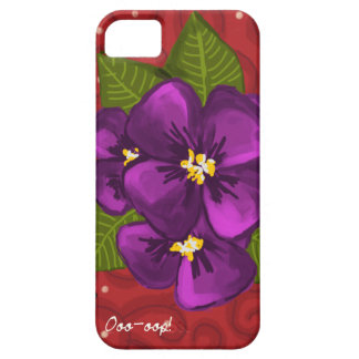 African Violet Dance iPhone SE/5/5s Case