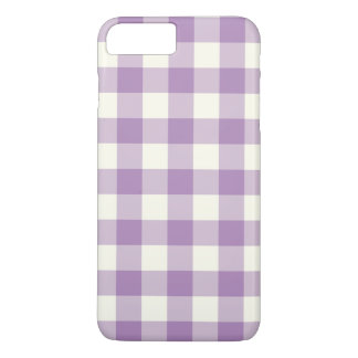 African Violet Gingham iPhone 7 Plus Case