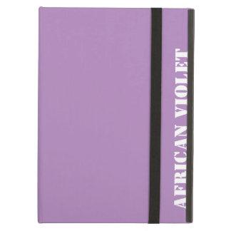 African violet iPad air case