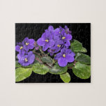 African violet jigsaw puzzle