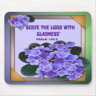 AFRICAN VIOLET Mousepad