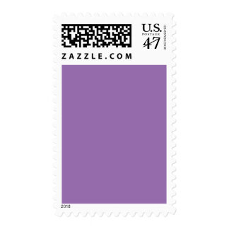 African Violet Purple Color Trend Blank Template Postage