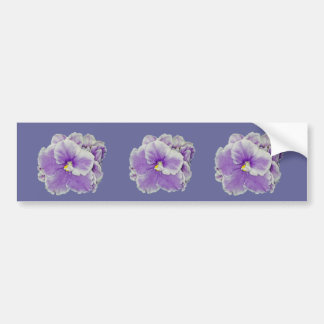 African Violet Purple Gifts Bumper Sticker