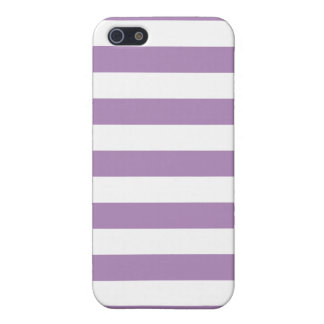 African Violet Purple Stripes Pattern iPhone SE/5/5s Cover