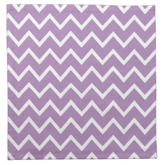 African Violet Purple Zig Zag Chevron Cloth Napkin