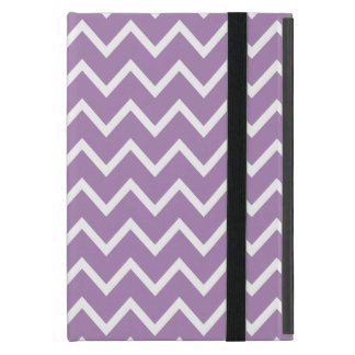 African Violet Purple Zig Zag Chevron Cover For iPad Mini