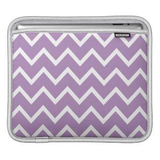 African Violet Purple Zig Zag Chevron iPad Sleeve