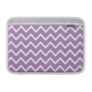 African Violet Purple Zig Zag Chevron MacBook Air Sleeve
