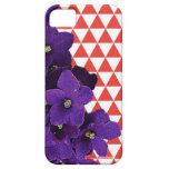 African Violet Red Pyramids Phone Cover iPhone 5 Cover
