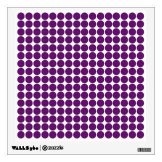 African Violet Safari Dot Wall Decor
