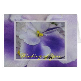 African Violets Card