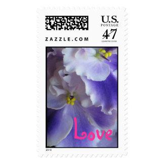 African Violets Stamp