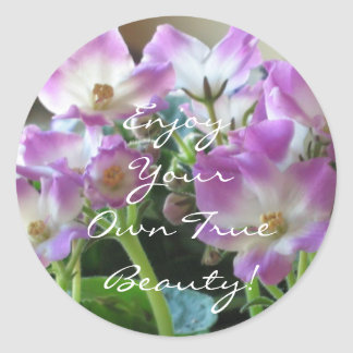 African Violets Sticker
