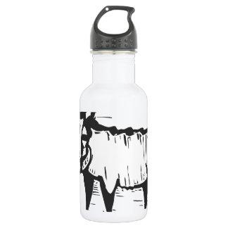 African Warthog 18oz Water Bottle