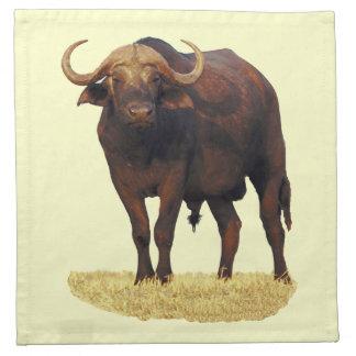 African Water Buffalo American MoJo Napkin