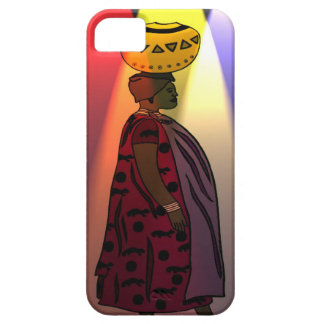 African water carrier iPhone SE/5/5s case