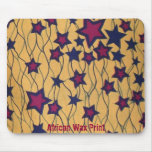 African Wax Print Mouse Pads