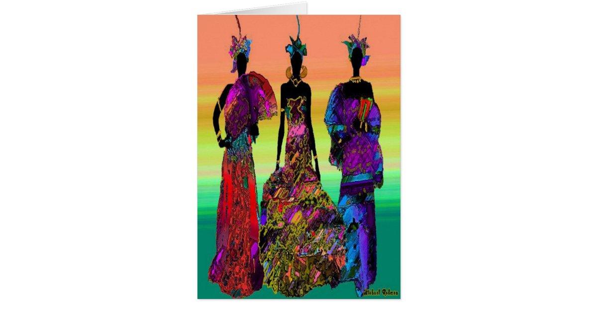 African Wedding Card | Zazzle