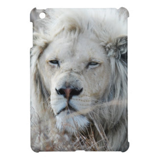 African white lion resting case for the iPad mini