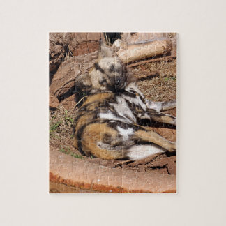 african-wild-dog-019 puzzle