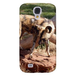 African Wild Dog i Samsung Galaxy S4 Case