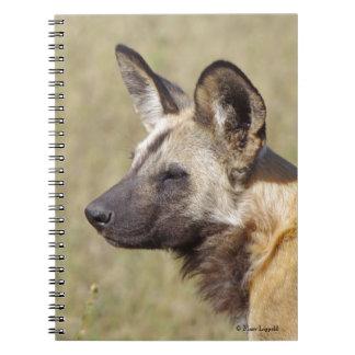 African Wild Dog Notebook