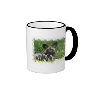 African Wild Dog Photo Coffee Mug