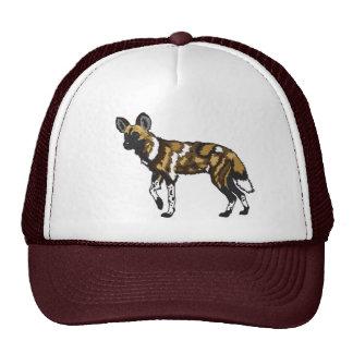 african wild dog trucker hat