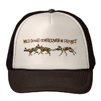 African Wild Dogs Conservation Project Cap Trucker Hat