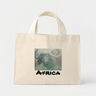 African wildlife Art Mini Tote Bag