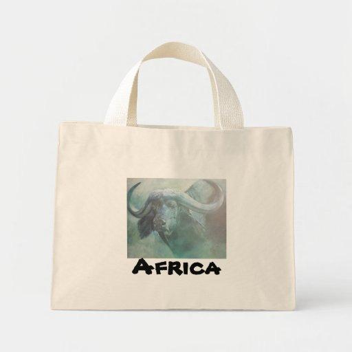 African wildlife Art Tote Bag