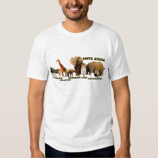 African Wildlife Collage 2 T-shirt