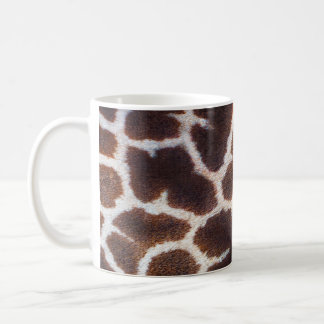 African Wildlife Giraffe Fur Photo Design Coffee Mug