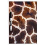 African Wildlife Giraffe Fur Photo Design Dry-Erase Whiteboards
