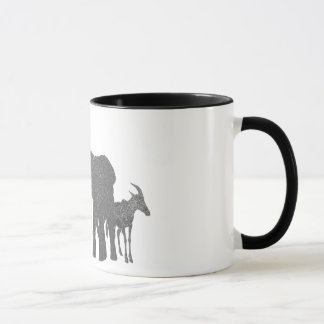 African Wildlife Mug