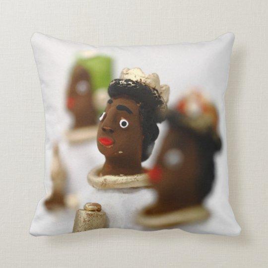 African Wise Men Throw Pillow