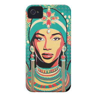 African woman Aminata Case iPhone 4 Cover