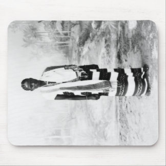 AFRICAN WOMAN CIRCA 1900 MOUSE PAD
