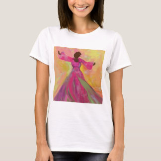 African Woman Dancing Women's T-Shirt