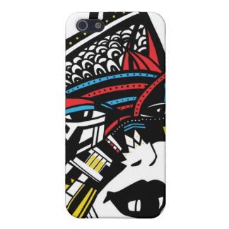 African woman face cases for iPhone 5