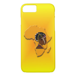 African Woman on the Continent iPhone 8/7 Case
