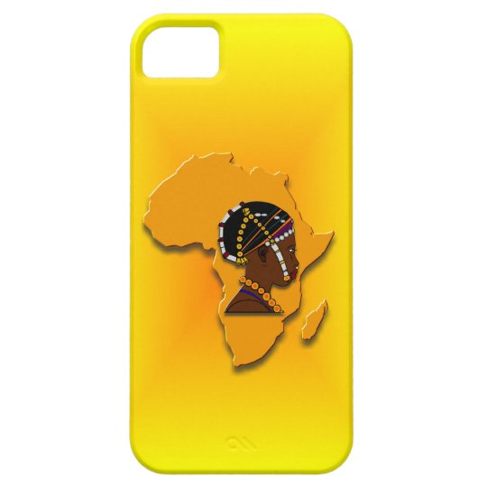 African Woman on the Continent iPhone SE/5/5s Case