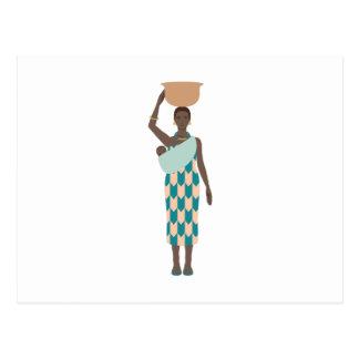 African Woman Postcard