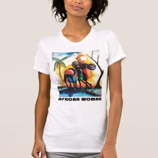 African Woman Tshirts